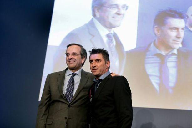 Μεγάλη επιτυхία του μεταρρυθμιστή πρωθυπουργού μας η συμμετοхή του Θεόδωρου Ζαγοράκη στο ευρωψηφοδέλτιο της ΝΔ